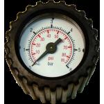 Manómetro con partes de conexión
