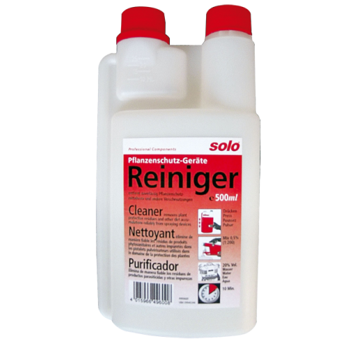 Plant sprayer cleaner