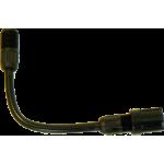 Alargador de varilla de pulverización flexible 15 cm