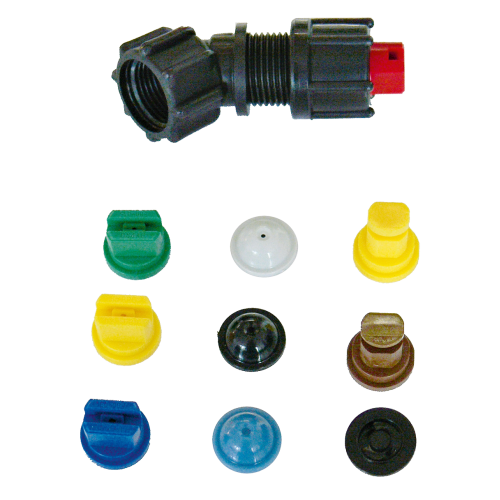 Complete nozzle set