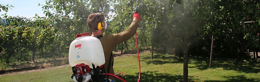 SOLO PRO Power Backpack Sprayers